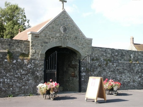 Shaftesbury Abbey Museum Entrance